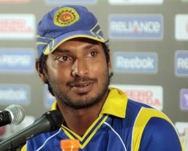 Sri Lanka's captain Kumar Sangakkara