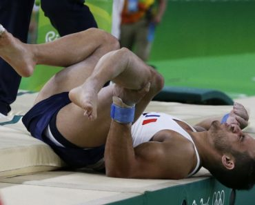 French gymnast Samir Ait Said