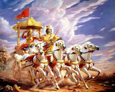 Maha parathan - Kirshana and Arjunan