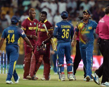 wet indies won the series with Sri Lanka cricket news