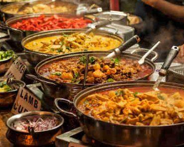 spicy food menu