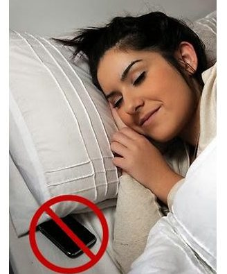 keeping phone under the pillow is harmful