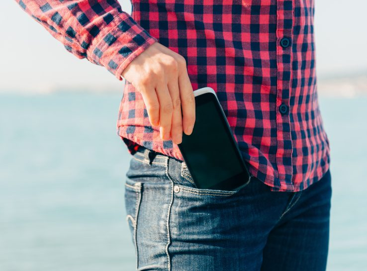keeping the phone in front pocket is harmful